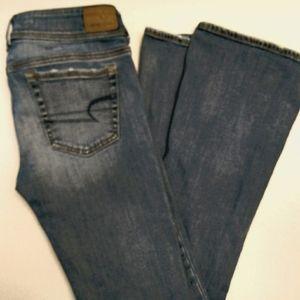 Stretch x, kick boot jeans